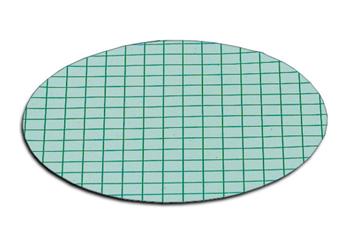 membrana verde con rejilla verde
