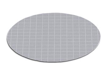 membrana gris con rejilla blanca